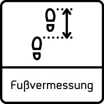 Fuss-Vermessung