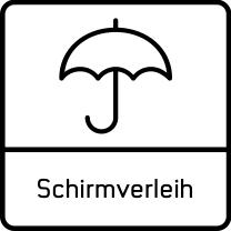 Schirmverleih