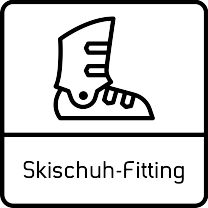 Skischuh Fitting