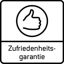 Zufriedenheitsgarantie